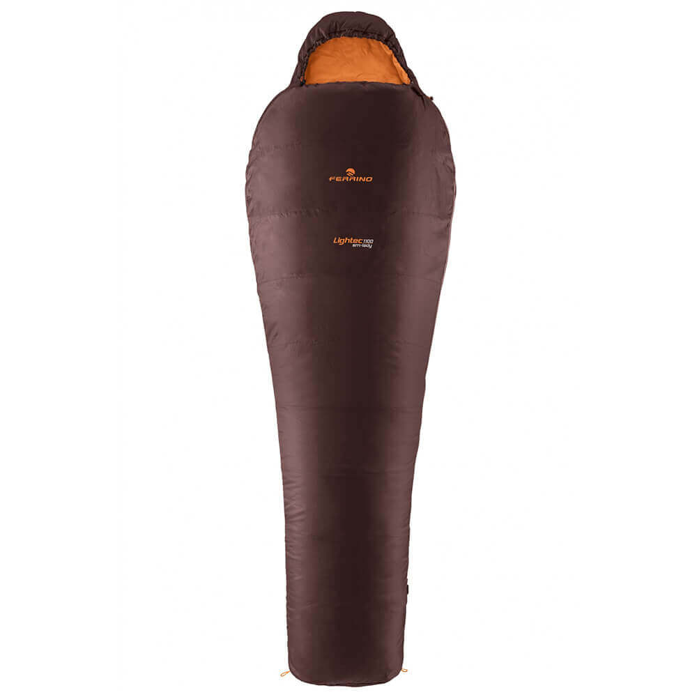 Ferrino Sleeping Bag Lightec-1100-sm-lady-brown